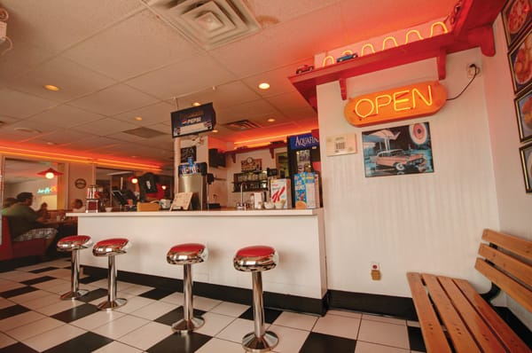 Get that '50s feel at Steve's Diner, in Riverview, NB. Credit Sandra Phinney