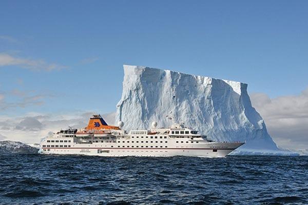 MS Hanseatic off the coast of northern Newfoundland. Credit: Hapag-Lloyd Cruises