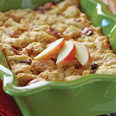Savoury Bread Pudding