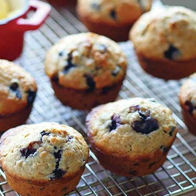 Oatmeal Berry Burst Muffins