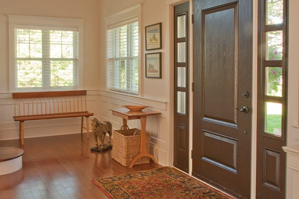 With careful planning and functional storage options your foyer can work hard and look great at the same time.