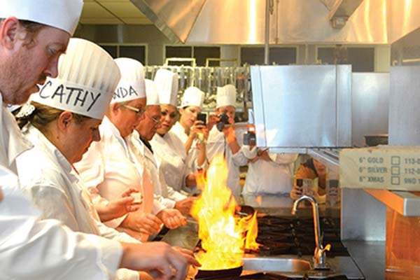 Holland College's Culinary Bootcamps—thrills on the grill.