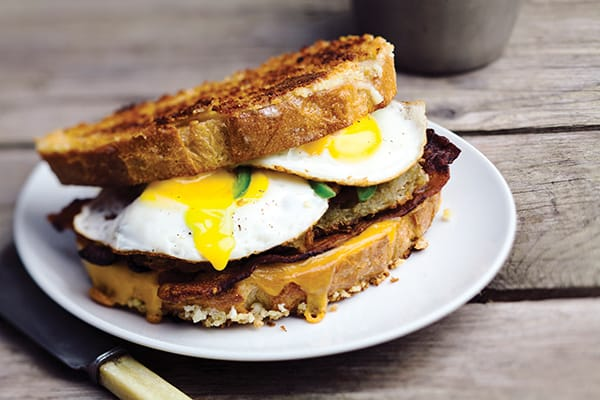 2015 Recipe Contest Second place winner: Grilled Cheese