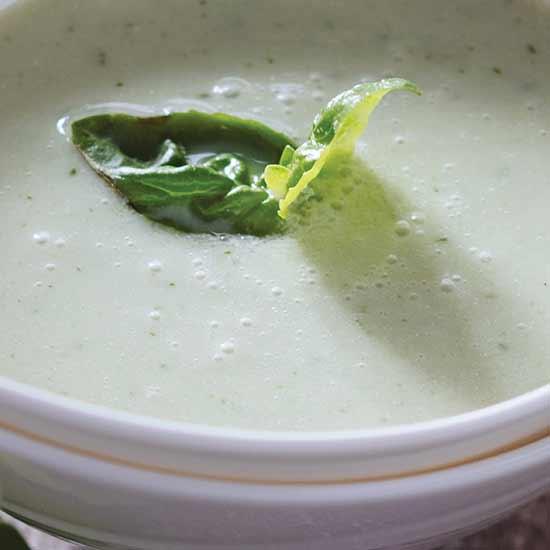 Cucumber Basil Soup