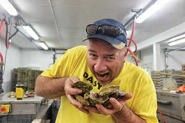James Power, Manager at Raspberry Point Oysters