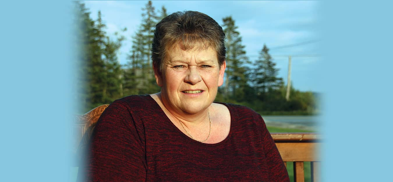 Tina Harvey of Lockeport, NS, suffers from severe osteoarthritis and has had several joint replacements.