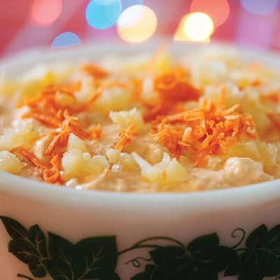 Carrot and Pineapple Jell-O Salad