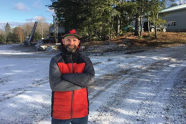Andy MacLean, longtime Martock employee.