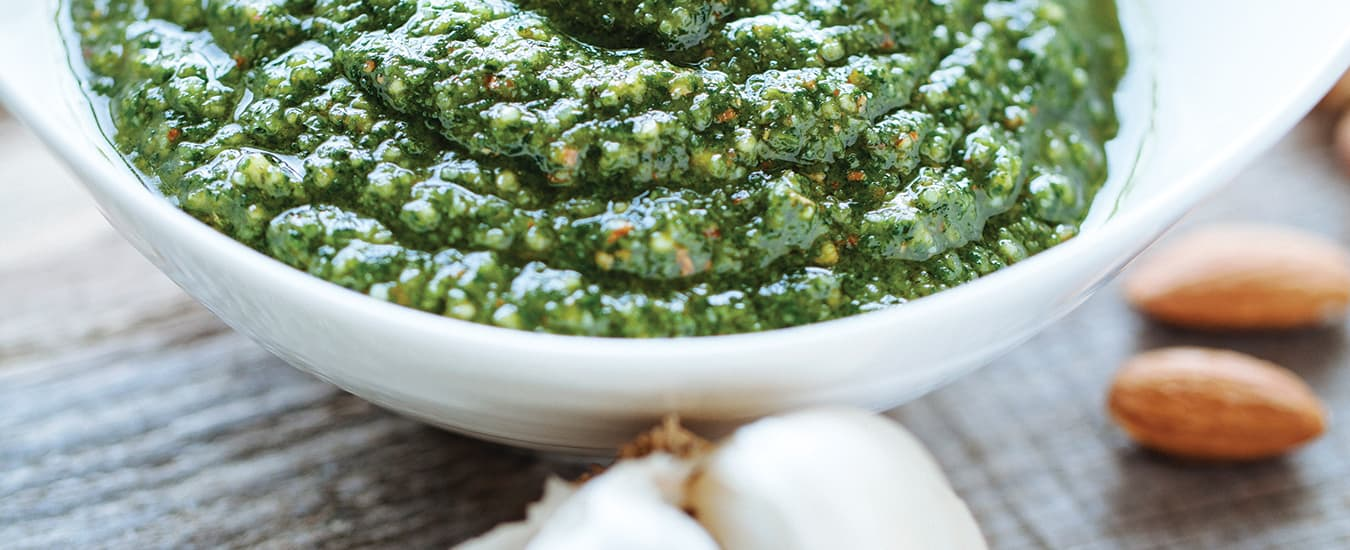 Basil Almond Pesto