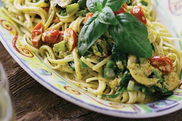 weet Basil Vegetable Pasta