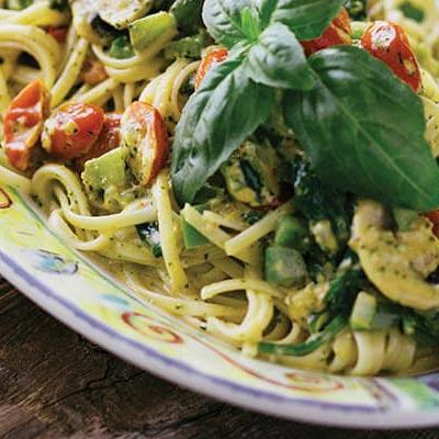 Sweet Basil Vegetable Pasta