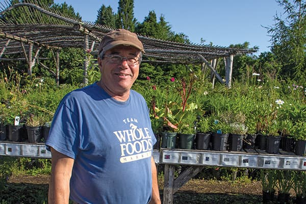 "Bob Osborne ""wanted to create an ambience unlike anywhere else,"" with Corn Hill Nursery"