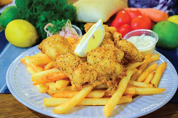 Lemon Pepper Bits are an all-time favourite at the Dennis Point Café in Pubnico.