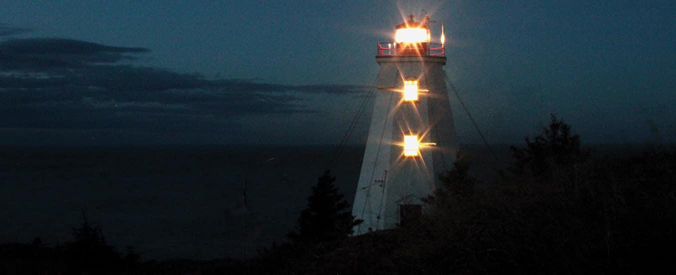 Swallowtail Light, Grand Manan, NB.
