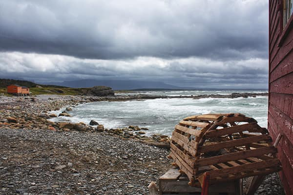 View from the fisherman's store, Broom Point, Gros Morne National Park, NL.