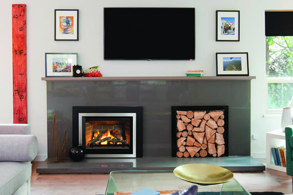 Today's fireplace inserts, such as the Legend G35 Insert pictured above, offer high efficiency and low emissions.