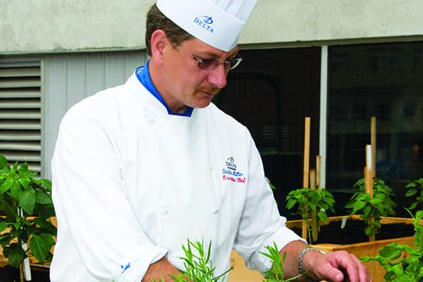 Chef Stefan Mueller, Delta Beauséjour, Moncton, NB