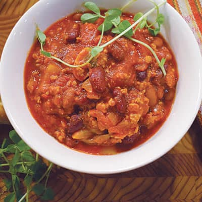Tony's Hearty Pork Chilli