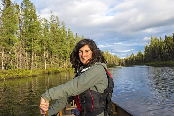 Marie-Christine Arpin now runs the Canoe Restigouche outfitting business founded by her father.