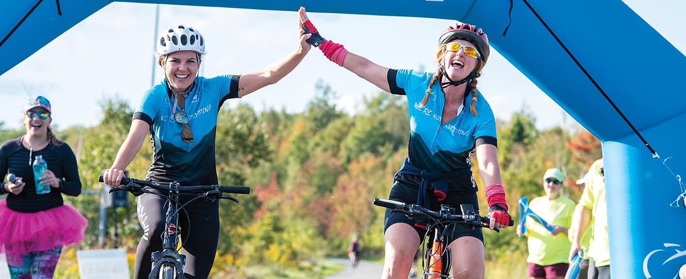 The Ride for Cancer is the largest fund-raising cycling event in Atlantic Canada.