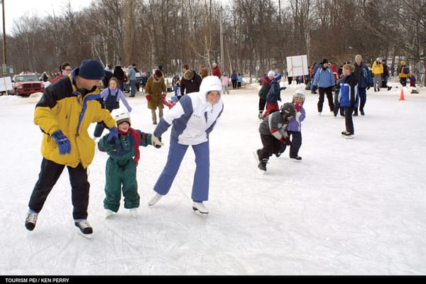 Ice Capades here we come! Fun for everyone at Jack Frost Children's Winterfest