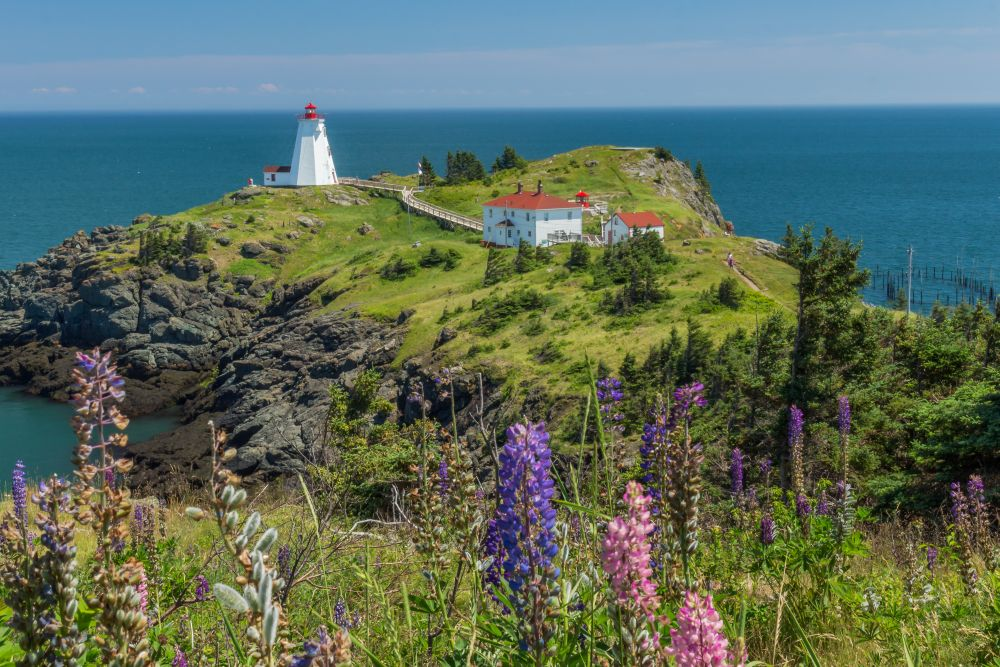 """Swallowtail Lighthouse"", by Tom Mason. Taken at Grand Manan, NB."