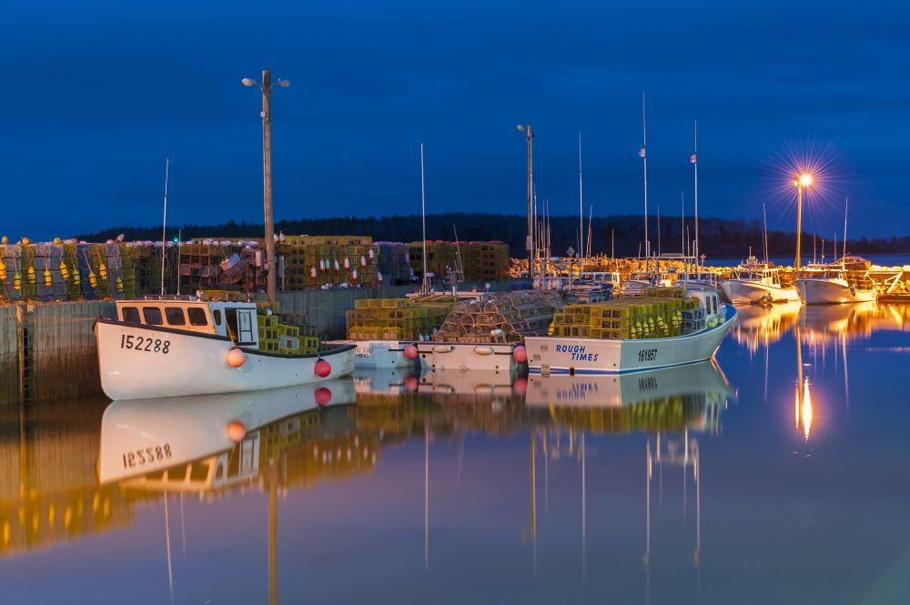 """The night before the drop"", by Ray Strickland. Taken at Pictou, NS."