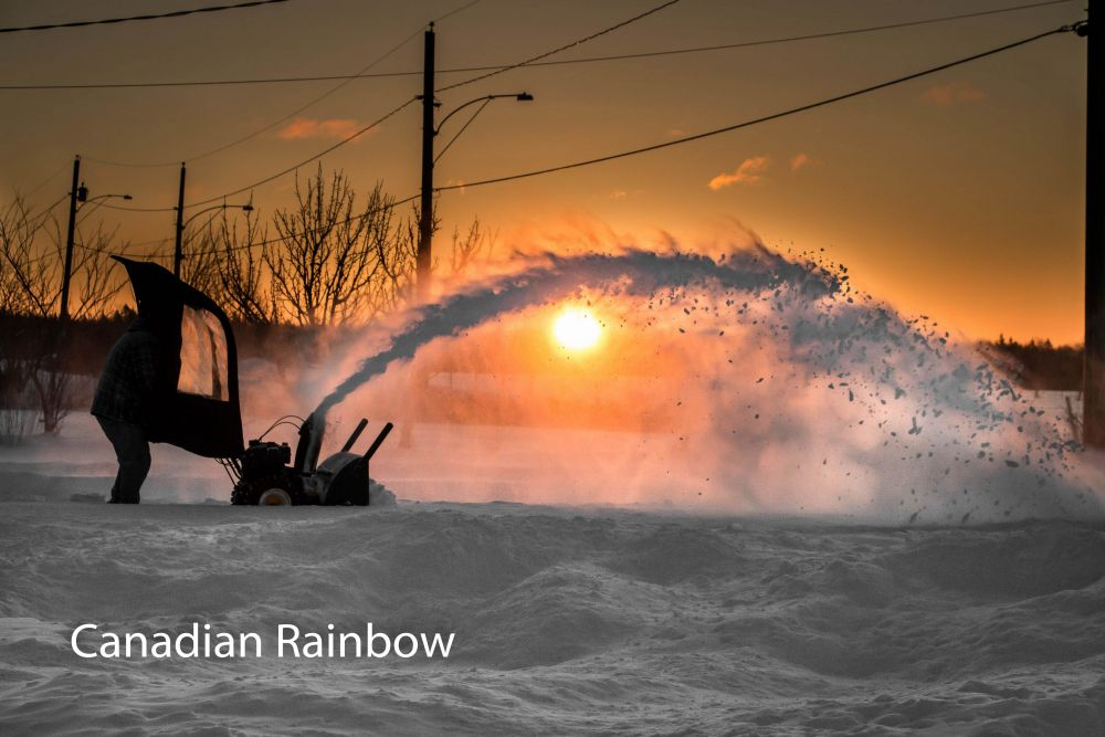 """Canadian Rainbow"", by Shawn Cormier. Taken at Moncton N-B Canada."
