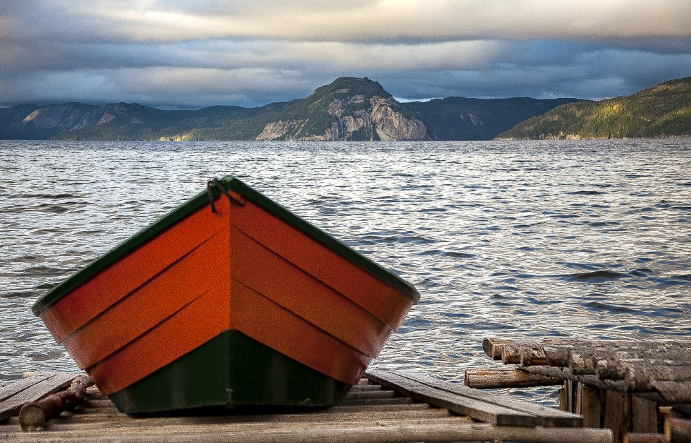 """""""Waiting"""", by Sheri Emerson. Taken at Cox Cove, Newfoundland."""