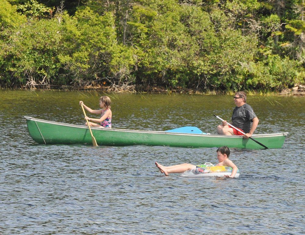"""""""afternoon on the lake"""", by Jane LeBlanc. Taken at Henry Lake, N.B.."""