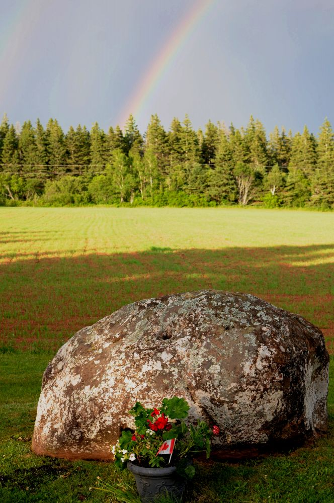 """""""Finding Peace at Big Stone Farm"""", by Carolyn McGrath. Taken at Millcove, PEI."""