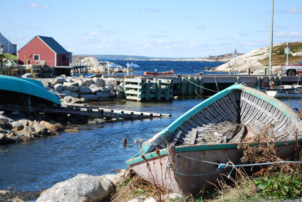 """Peggy's Cove"", by Linda Houghton. Taken at Peggy's Cove, N.S.."