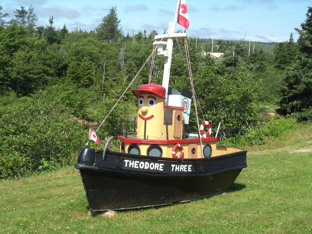 """Theodore Replica"", by Anita Daye. Taken at Near Mosers River, Eastern Shore, NS."