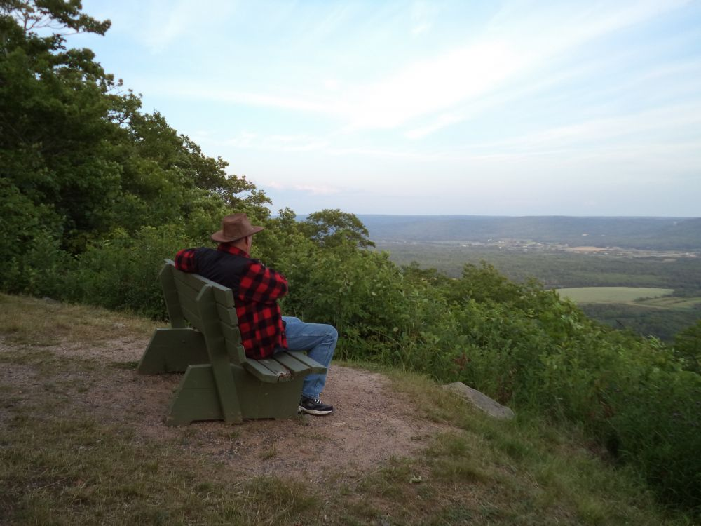 """Surveying the Valley"", by Anita Daye. Taken at Valleyview Provincial Park, NS."