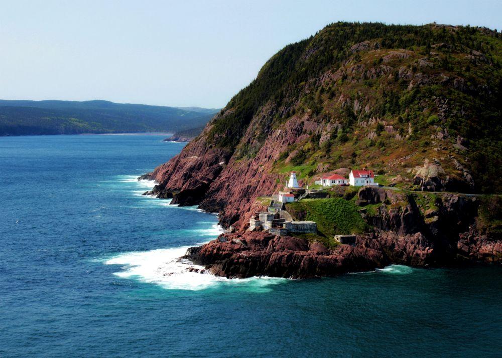 """""""Fort Amherst Lighthouse"""", by Carla Johnston. Taken at St. John's, NL."""