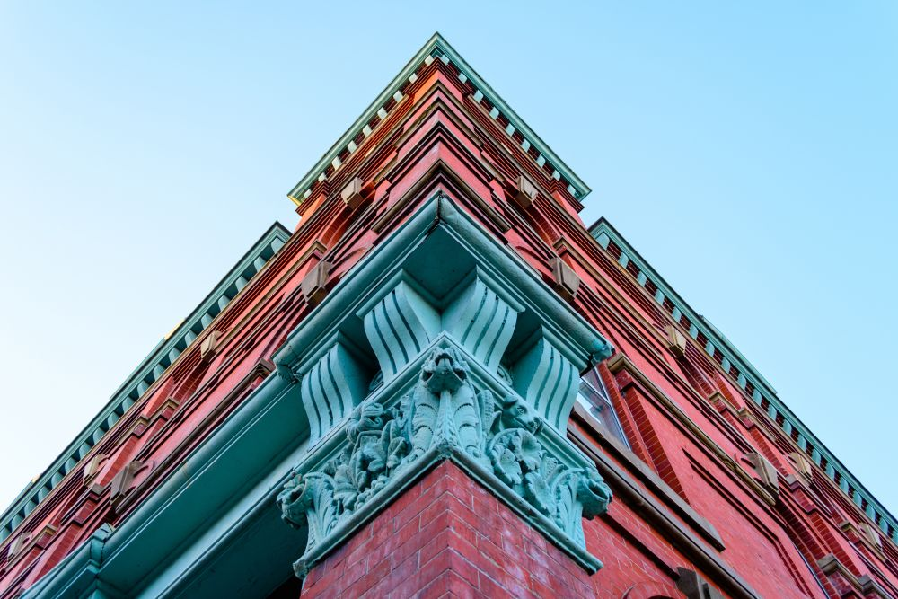"""The corner of the Randolph Building"", by Jason Jeandron. Taken at Fredericton."