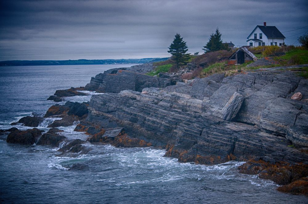 """Blue Rocks"", by Jobin Basani. Taken at Blue Rocks, Nova Scotia."