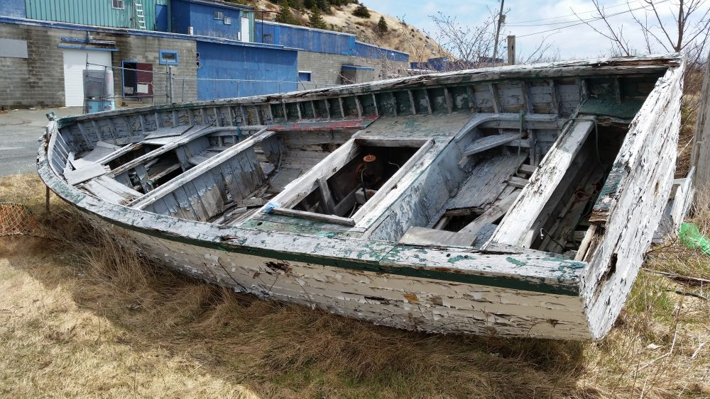 """Beached"", by David Zinger. Taken at Newfoundland."