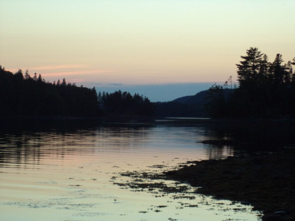 """At Dusk"", by Anita Daye. Taken at Salsman Provincial Park, Country Harbour, NS."