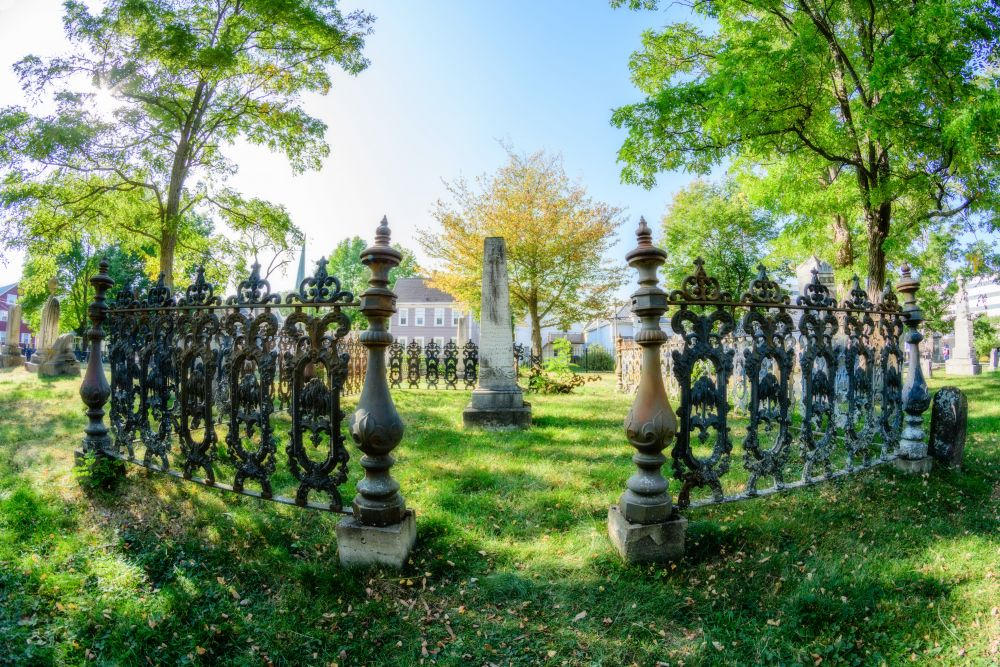 """""""Old Burial Ground"""", by Jason Jeandron. Taken at Fredericton."""
