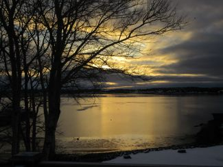 Dawn over Charlottetown Harbour by