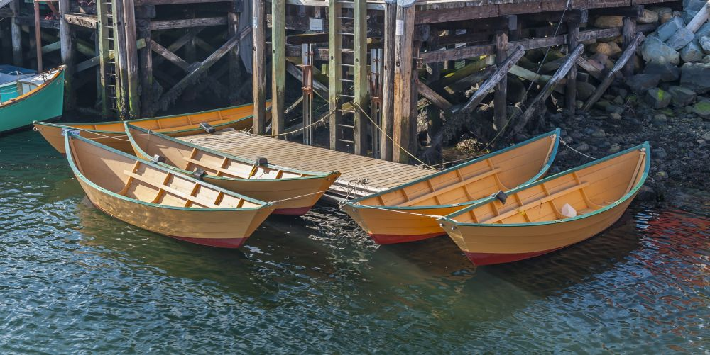 """""""Ready to row"""", by Ray Strickland. Taken at Lunenburg."""