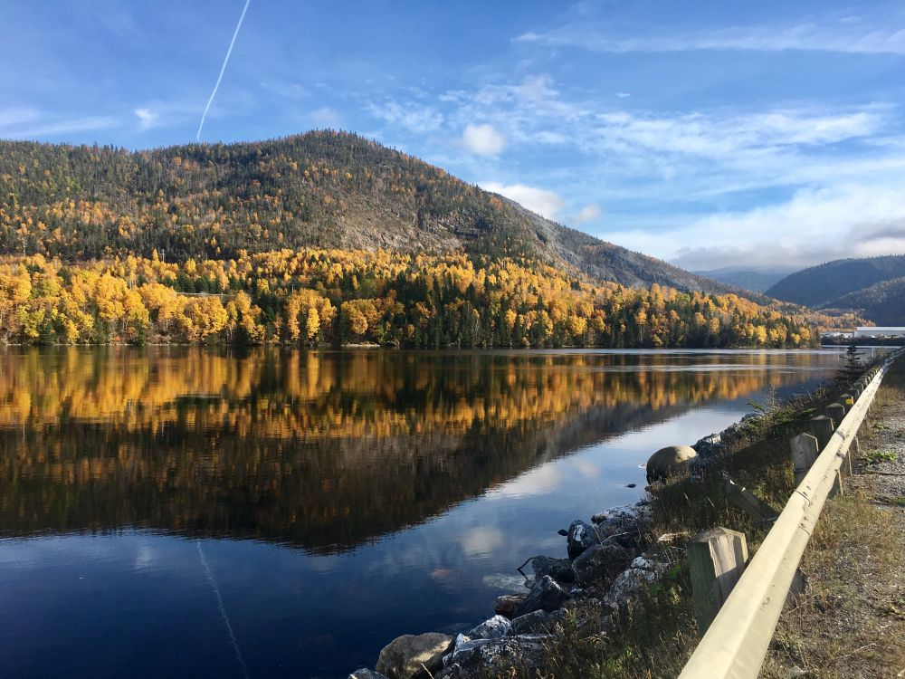 """""""Reflections of Home"""", by Sherrie Adams. Taken at Corner Brook, NL."""