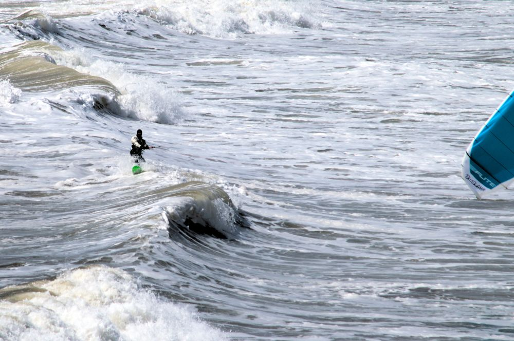 """""""Spring Surfing"""", by Ray Rawding. Taken at Lawrencetown Beech NS."""