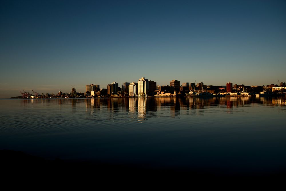 """""""Halifax Harbour at Dawn"""", by Ray Rawding. Taken at Halifax NS."""