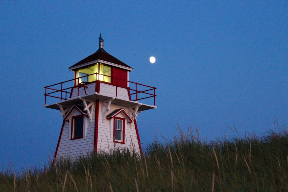 """""""Covehead Harbour Lighthouse"""", by Amanda Leslie. Taken at Prince Edward Island."""