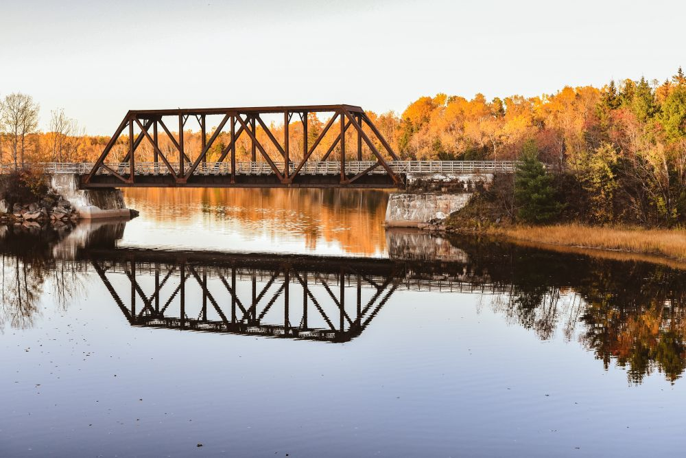 """Trans Canada Bridge"", by Saffron k. Taken at Tatamagouche, Nova Scotia."
