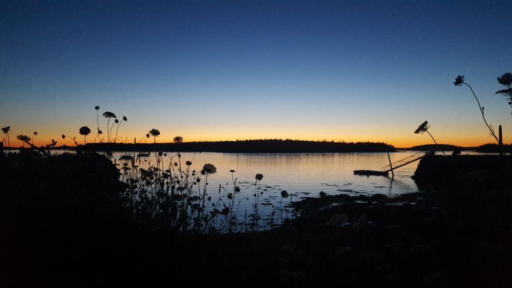"""Summer sunset"", by Brianna Dunstan. Taken at Argyle, Nova Scotia."