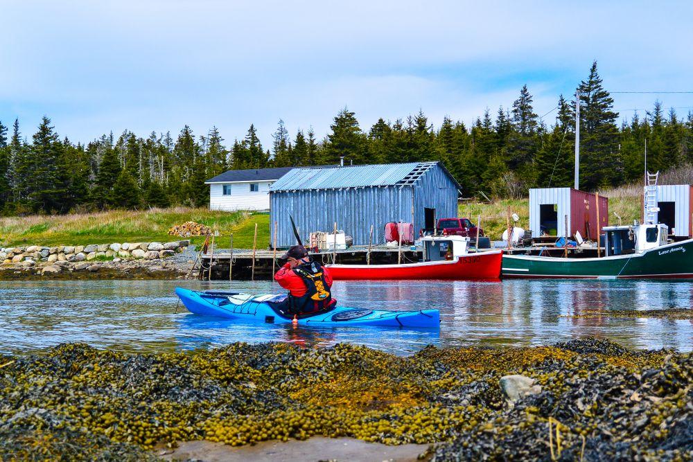 """Exploring fishing Villages"", by Christopher Lockyer. Taken at Little Harbour, Nova Scotia."
