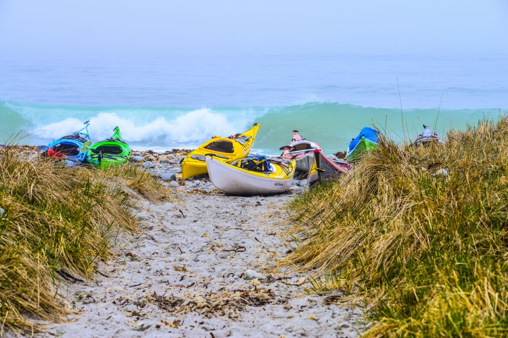 """Getting ready for fun"", by Christopher Lockyer. Taken at Cape Sable Island."